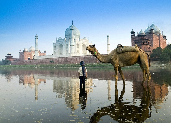 Agra, city of the Golden Triangle, India.