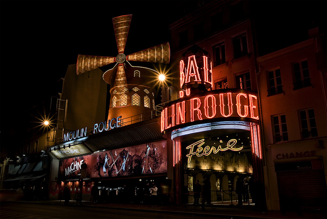 Le Moulin Rouge, imprescindible de ver en París