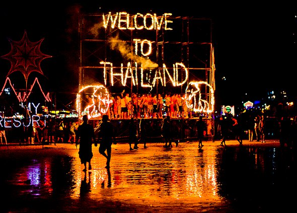 Full Moon Party, Tailandia