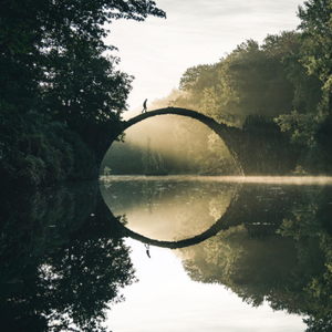 Paisaje de mágico por fotógrafo alemán