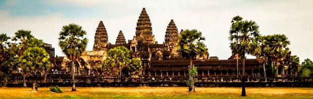 Camboya y sus parques y templos para visitar en vacacaiones