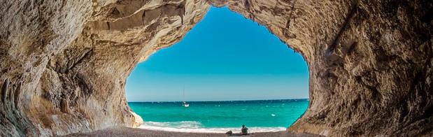 cuevas en Cerdeña, hermosos paisajes.