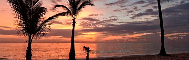 Punta Cana en la República Dominicana. Caribe a tus pies.