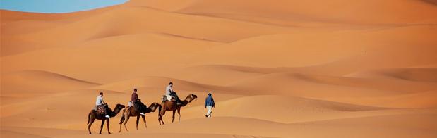 Marruecos de ensueño en sus hermosas dunas del desierto