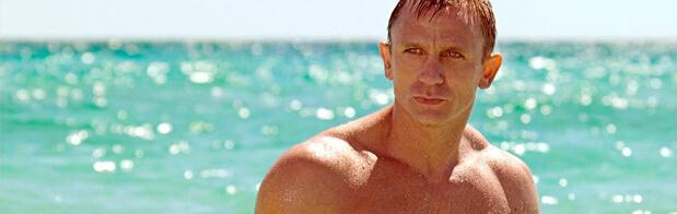 Daniel Craig en james bond en pelicula