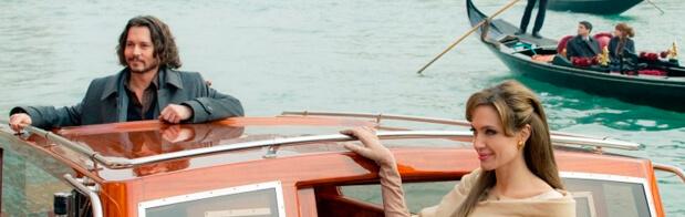 Actores famosos en Venecia por rodaje de pelicula