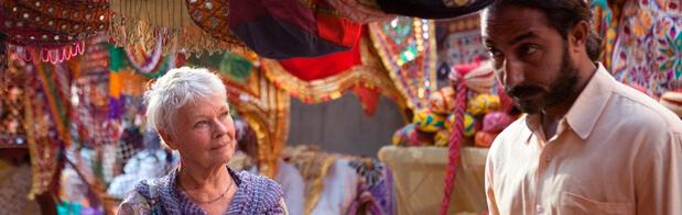 hotel Marigold pelicula para viajar por India
