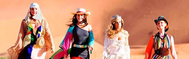 las chicas mas glamurosas de nueva york de viaje por dubai
