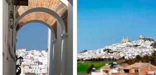 Belleza en la antigua arquitectura de los Pueblos Blancos de Andalucía