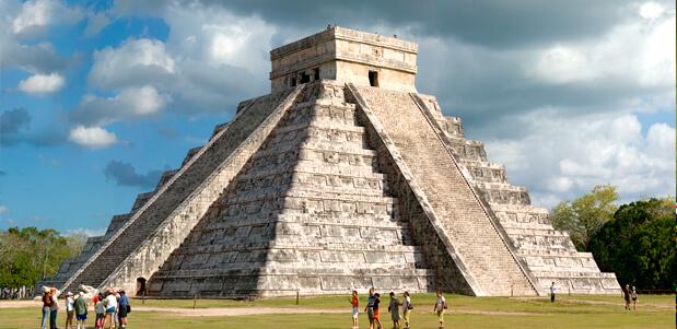 Las ruinas de la Riviera maya
