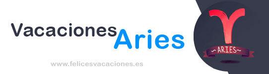 Las vacaciones perfectas para Aries