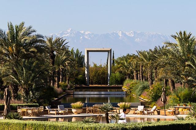 El tiempo en Marrakech marruecos