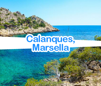 Calanques Marsella