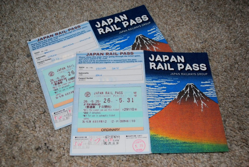 Rail Pass Japon