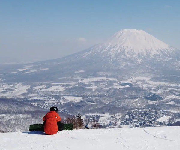 Nieve ideal en Niseko