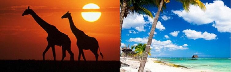 Luna de miel - Viaje de Novios a Kenia y Mauricio