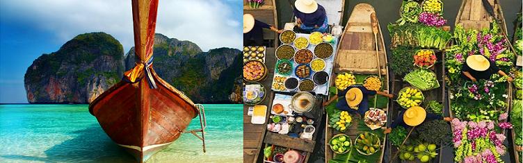 Combinado Bangkok y Phuket