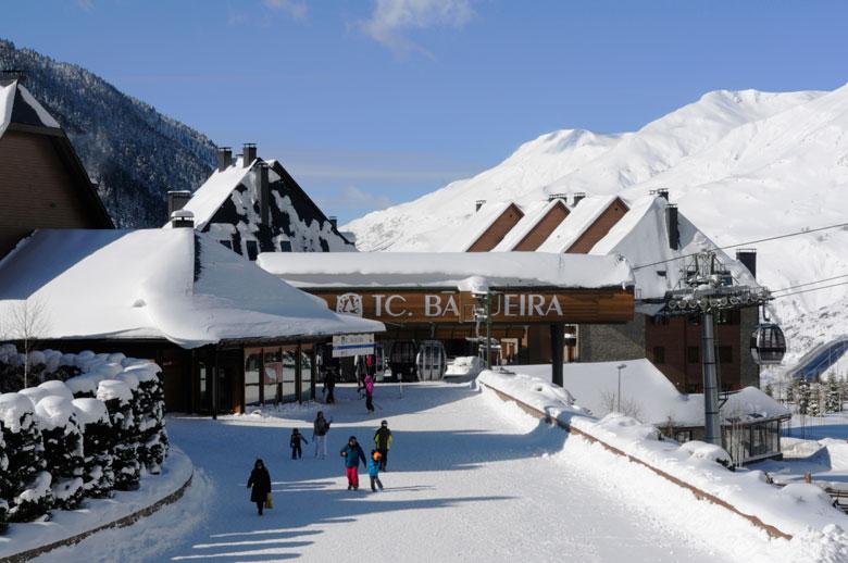 Oferta hotel y forfait en Baqueira
