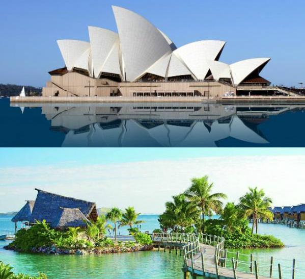 Combinado Australia Fiji