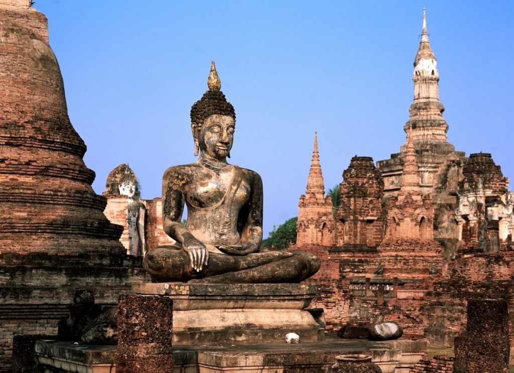 norte a sur de tailandia
