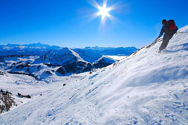 esqui alpes suizos