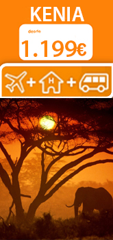 Oferta viaje a Kenia