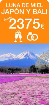 Luna de miel viaje de novios a Japón y Bali
