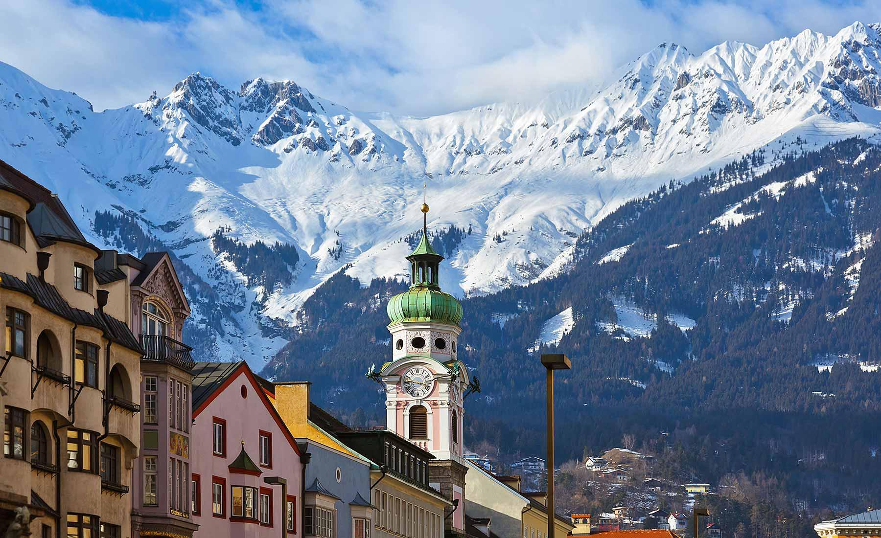 Viaje a Austria, Innstruck
