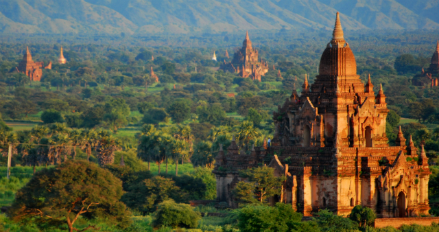 Tour por Myanmar