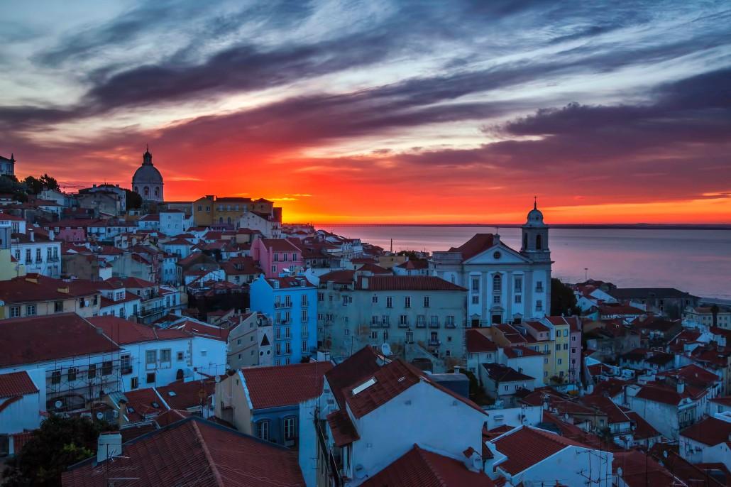 Viaje a Lisboa, Puente