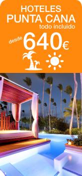 Punta Cana hoteles 5 estrellas