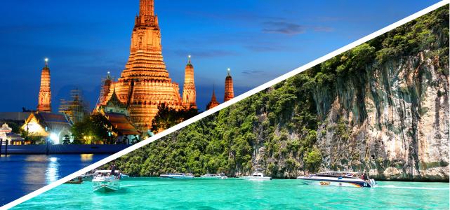 Vuelos Bangkok y Krabi