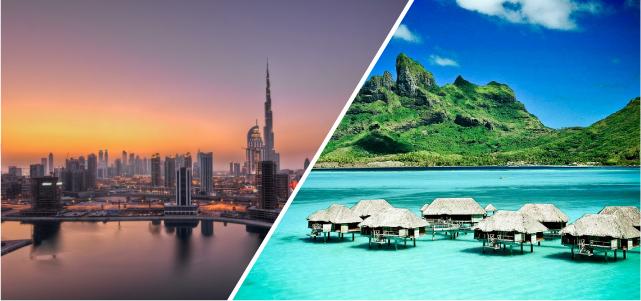 Viaje combinado Dubai Mauricio