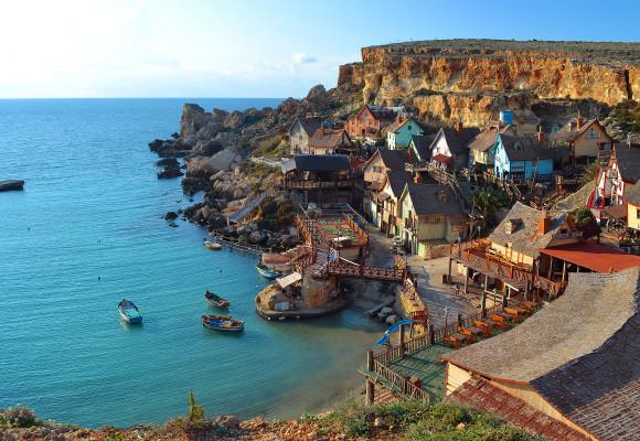 playas y calas de Malta