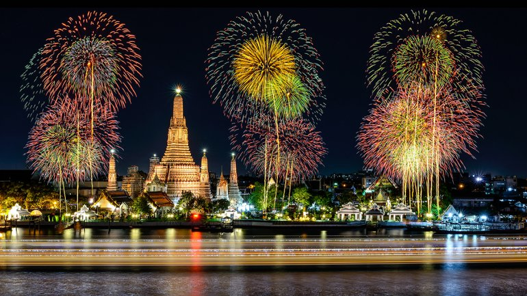 Nochevieja en Tailandia