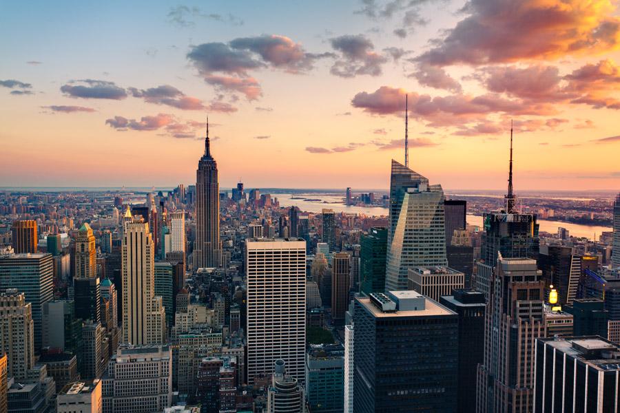 nueva york como destino de viaje de novios