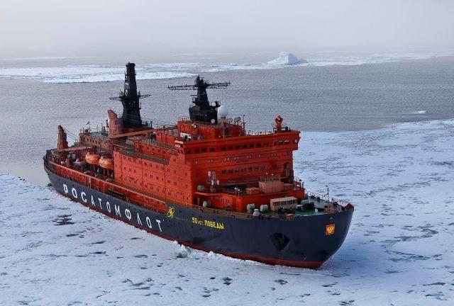 Crucero Rompehielos Polo Norte