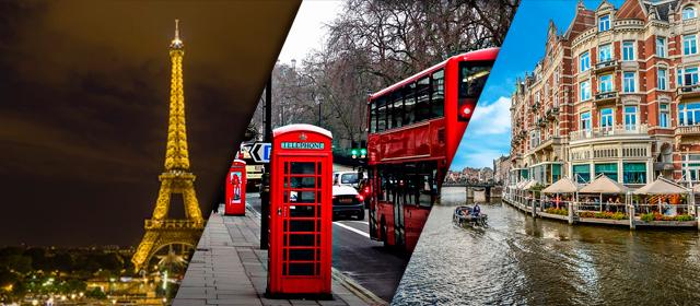 Circuito París + Londres + Ámsterdam