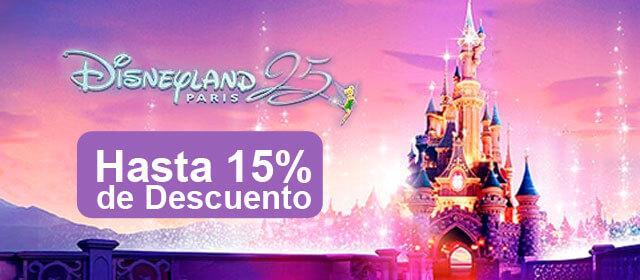 Viaje a Disneyland París en oferta