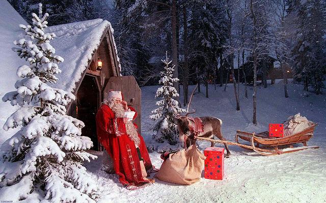 Trineo papa Noel