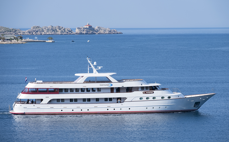 Crucero exclusivo por la costa de Croacia
