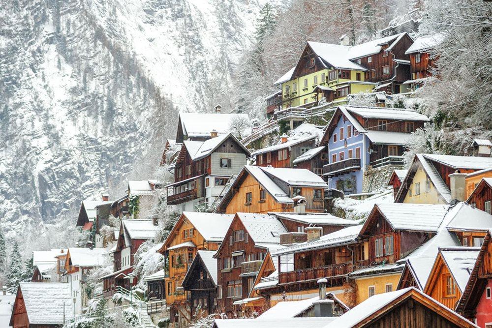 Alojamiento en los alpes suizos