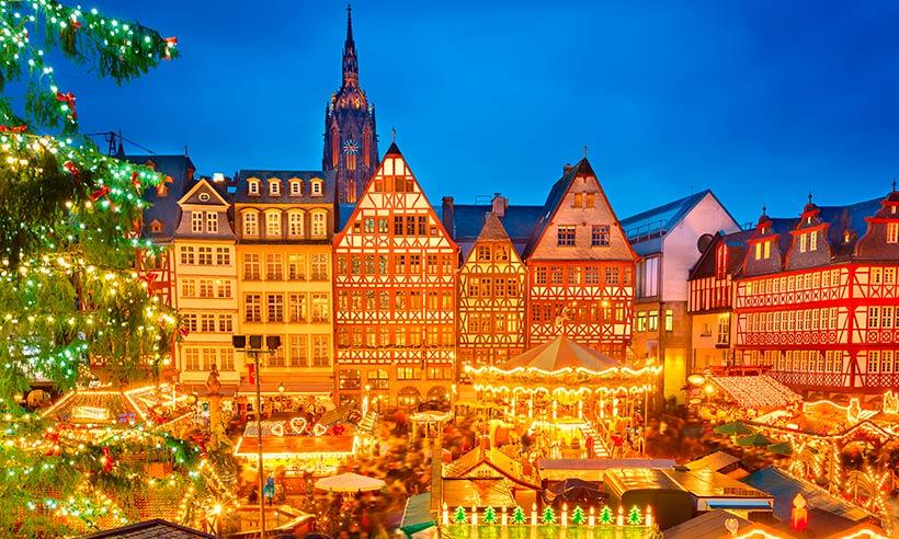 Mercadillo navideño de Frankfurt