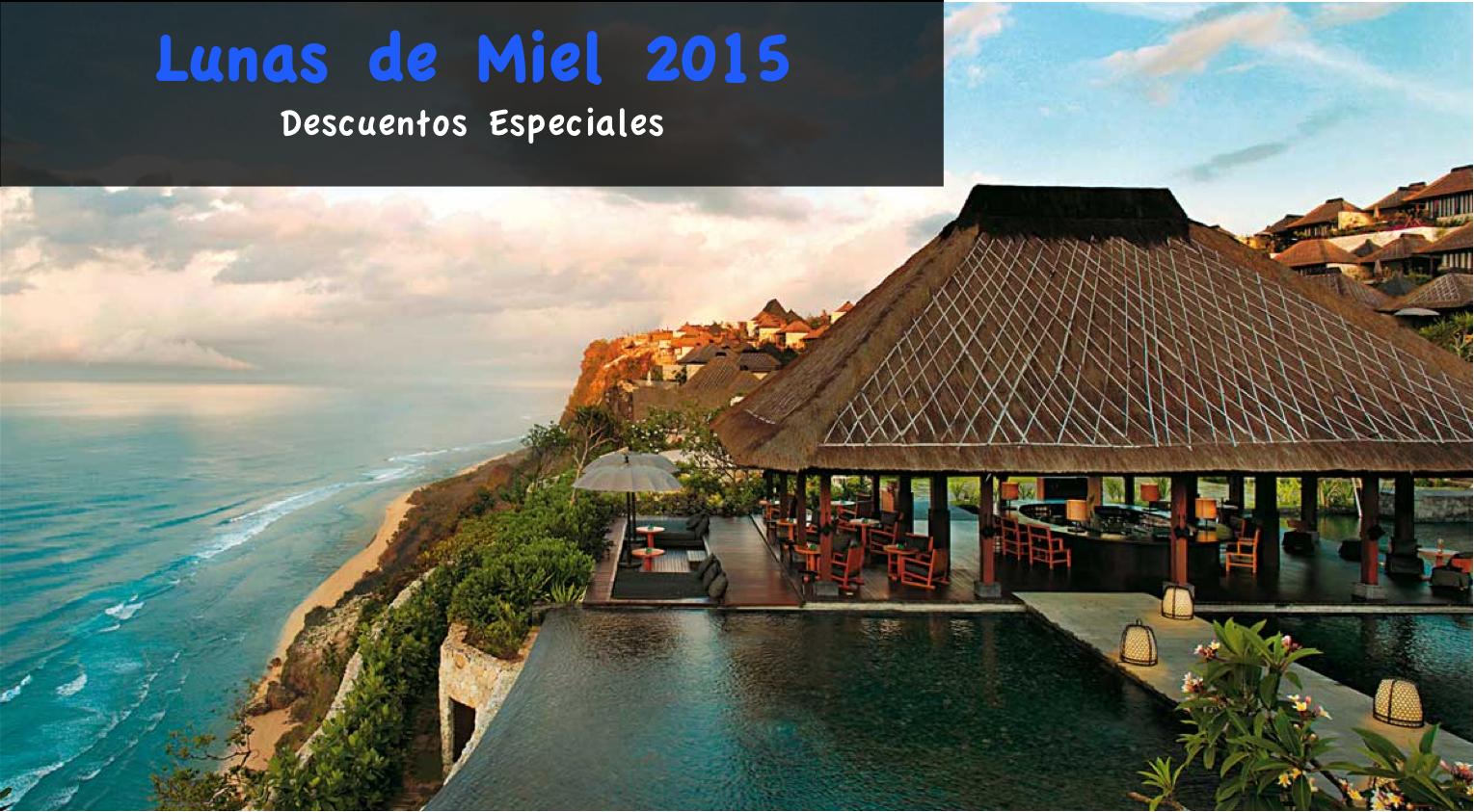 Ofertas Lunas de Miel 2015