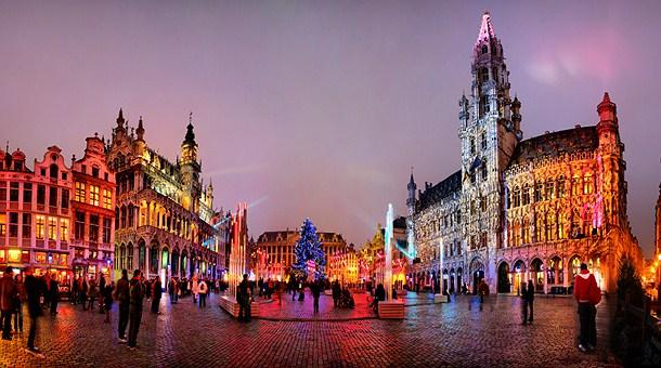 Mercado de Navidad en Flandes